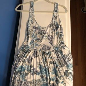 United Colors of Benetton Blue Floral Dress